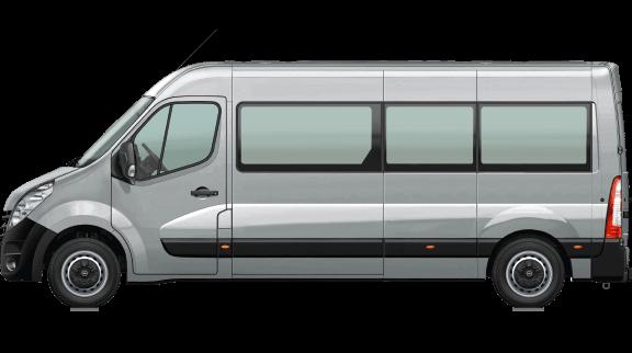 Movano Bus (16+1 Sitzplätze)