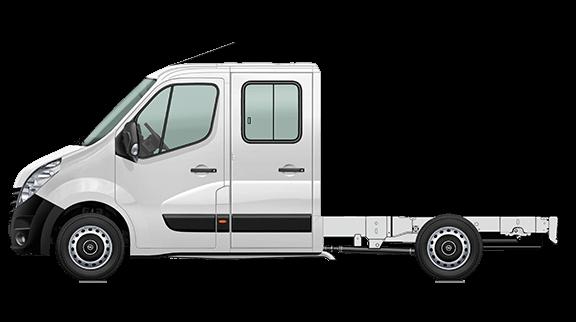 Movano Fahrgestell Doppelkabine