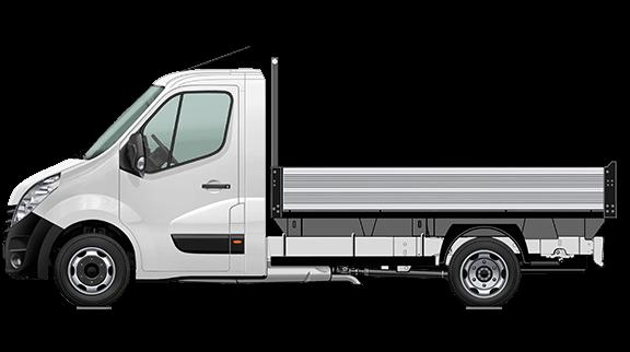 Movano Fahrgestell Normalkabine mit Kipper